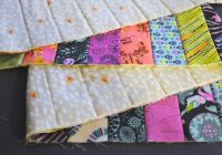 quilt as you go tutorial stitch and flip method Cozy Flip And Sew Quilting Method Inspirations