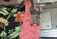 quilt bias binding tips weallsew Elegant Sewing Bias Binding On A Quilt