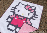 quilt candy hello kitty Hello Kitty Quilt Block Patterns Gallery