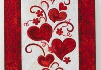 quilt inspiration free pattern day hearts and valentines Modern Heart Applique Quilt Patterns