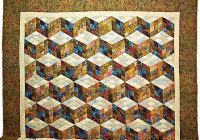 quilt inspiration tumbling blocks divided 4 or 9 Elegant Tumbling Block Quilt Pattern