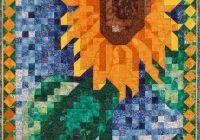 quilt pattern sunflower mosaic art quilt pattern Interesting Mosaic Quilt Patterns Gallery