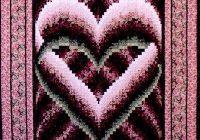 quilt patterns free bargello quilt patterns browse Elegant Bargello Heart Quilt Pattern
