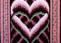 quilt patterns free bargello quilt patterns browse Interesting Heart Bargello Quilt Pattern Gallery