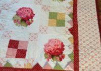 quilt pretty irish chain hydrangea lap quilt from quality Interesting Irish Quilting Fabric Inspirations