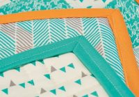 quilt school how to sew binding on a quilt step step Cozy Fold And Sew Quilting Method Gallery