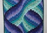 quilted bargello step step tutorial bargello quilt Cool Bargello Quilts Patterns