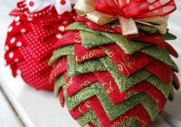 quilted christmas ornament patterns deck your tree Stylish Quilted Ornament Pattern Gallery