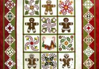 quilted gingerbread pattern sue garmin Cool Gingerbread Quilt Pattern Gallery