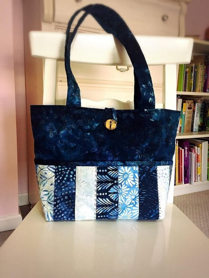 Permalink to Modern New Fabric Quilted Tote Bags Inspirations