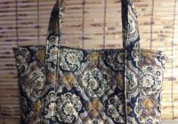 quilted tote bags diy confederated tribes of the umatilla 9 Interesting Quilted Tote Bags Patterns