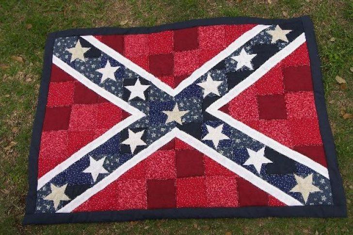 Permalink to Unique Confederate Flag Quilt Pattern