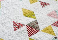 quilting with triangles part 1 cutting weallsew Modern Quilting With Triangles
