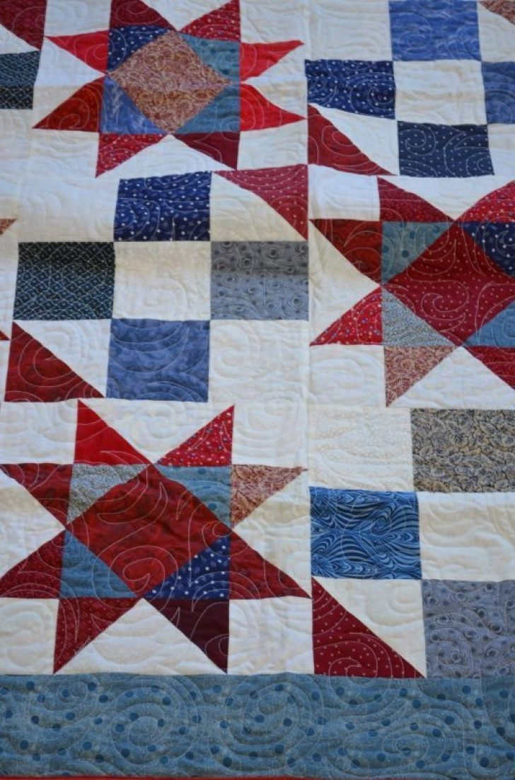 Permalink to Unique Fons And Porter Pattern For Quilts Of Valour