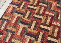 rail fence with kansas troubles fabric quilts for all Elegant Railroad Quilt Block Pattern