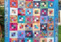 randomly pieced using bali batik fabrics pattern is pandoras New Bali Fabrics Quilting