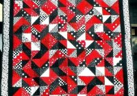 red and black quilt medulich Red And Black Quilt Patterns