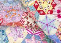 red pepper quilts hand pieced hexagon star quilt Elegant Hand Pieced Quilt Patterns