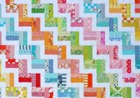 red pepper quilts zig zag rail fence quilt and new quilt Unique Zig Zag Rail Fence Quilt Pattern Inspirations