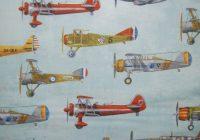 rk72 vintage antique airplanes sky blue flight aviation Vintage Airplane Quilt Gallery
