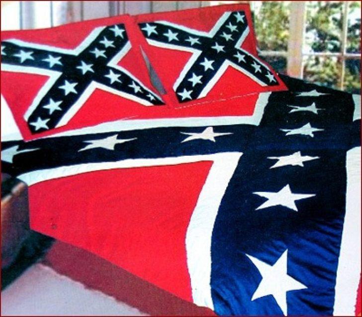 Permalink to Unique Confederate Flag Quilt