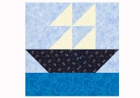 sailboat quilt block pattern in two sizes Elegant Sailboat Quilt Block Pattern Inspirations