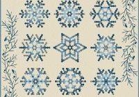 sale edyta star snowflake quilt pattern thediyaddict Stylish Snowflake Quilt Patterns