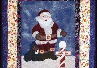 santa quilt pattern Santa Claus Quilt Patterns