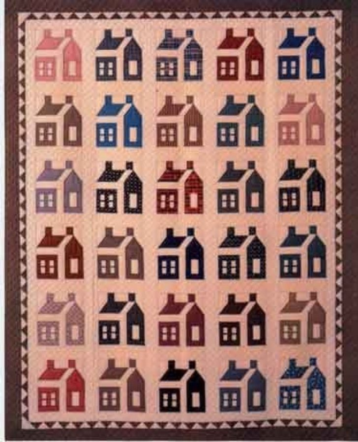 Permalink to Interesting Schoolhouse Quilt Pattern Inspirations