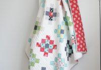 scrappy granny squares quilt tutorial quilty love Elegant Granny Square Quilt Pattern