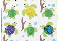 sea turtle friends applique quilt pattern Modern Simple Applique Quilt Patterns Inspirations