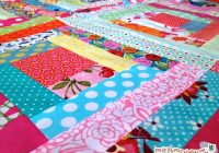 sew a log cabin quilt block made marzipan Interesting Log Cabin Quilt Block Patterns Gallery