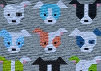 sew fresh quilts dog gone cute Modern Dog Gone Cute Quilt Free Inspirations