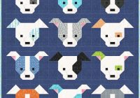 sew fresh quilts dog gone cute quilt along blog hop Modern Dog Gone Cute Quilt Free Inspirations