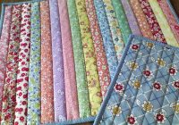 sew quilt in 0ne placemats strip quilts quilts quilt Cozy Flip And Sew Quilting Method Inspirations