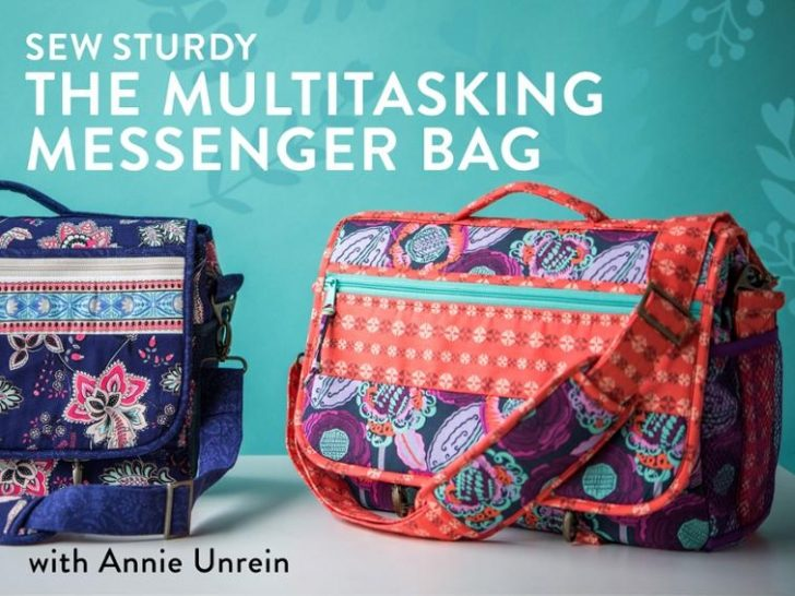 Permalink to Modern Quilted Messenger Bag Pattern