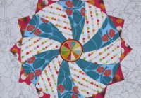 shine the circles quilt epp occasionalpiece quilt Interesting Quilt Patterns With Circles Gallery
