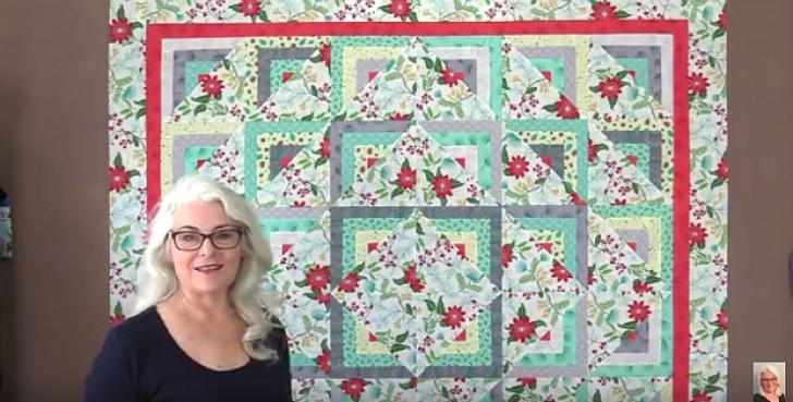 Permalink to Half Log Cabin Quilt Pattern