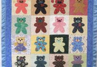simple bear block applique pattern Modern Simple Applique Quilt Patterns Inspirations