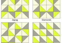 simple triangle block sew along quilts triangle quilt Cool Quilt Patterns Using Triangles
