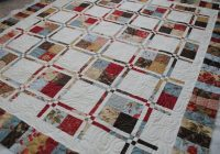 sisters and quilters fabulous customer sharing day Elegant Disappearing Four Patch Quilt Pattern Inspirations