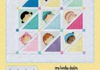 sleepy babies quilt pattern amy bradley designs lap quilt wallhangingpillow ebay Cozy Amy Bradley Quilt Patterns Gallery