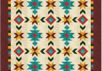southwest inspired fullqueen size quilt pattern 76 in Interesting Full Size Quilt Patterns Gallery
