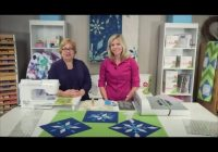 sparkling snow diamonds quilt quilting tutorial and free pattern Stylish Youtube Quilting Patterns Inspirations