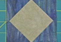 square in a square quilt block Stylish Square In Square Quilt Pattern