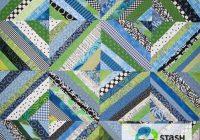 string piecing and improvisation stash bandit Stylish Strip Pieced Quilt Patterns Inspirations