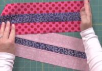 strip piecing quilt techniques Stylish Strip Pieced Quilt Patterns Inspirations