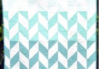 stunning ombre herringbone quilt using riley blake fabric Cozy Beautiful Ombre Quilting Fabric Ideas Gallery