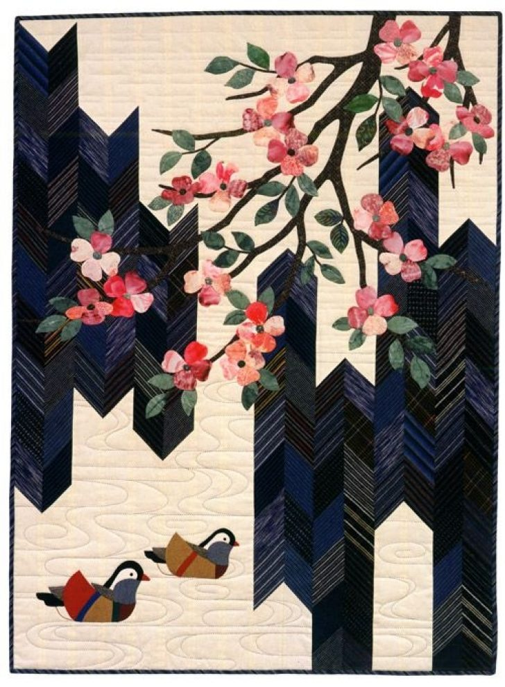 Permalink to 11 Cozy Elegant Japanese Fabric Quilt Ideas Gallery