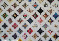 Stylish cathedral window quilt colorways vicki welsh 9 New Cathedral Window Quilt Patterns Inspirations
